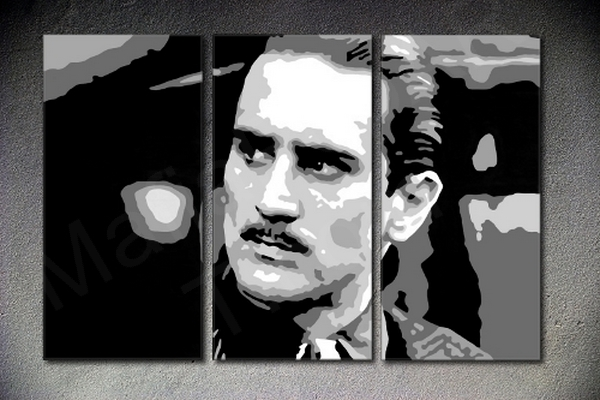 The Godfather - Robert De Niro 3 dielny POP ART obraz na stenu
