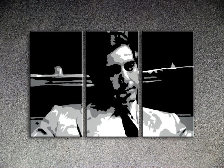 The Godfather - AL PACINO 3 dielny POP ART obraz na stenu