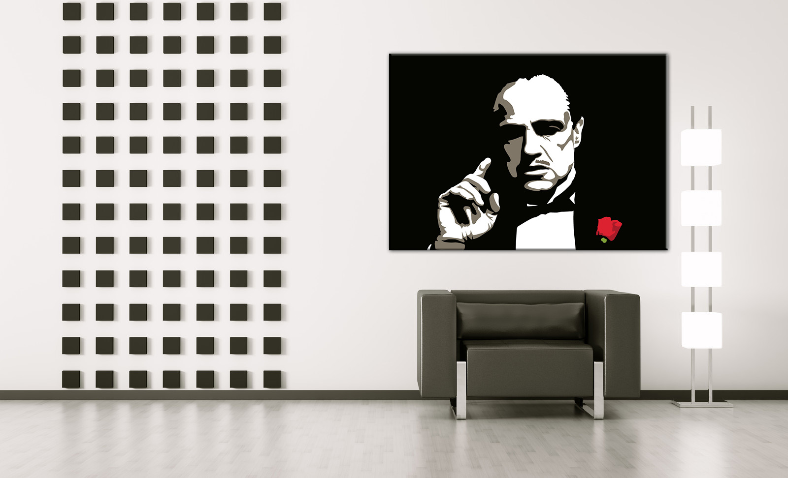 The Godfather Vito Corleone / Marlon Brando POP ART obraz