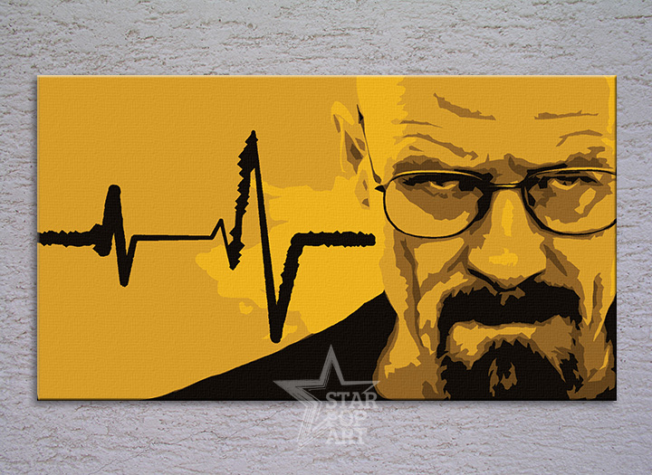 BREAKING Bad  POP ART obraz na stenu