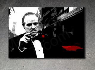 "The Godfather ""Mafia City II"" Marlon Brando POP ART obraz na stenu"
